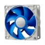 Вентилятор корпусной Deepcool UF 80 80x80x25 4pin 18-23dB 900-2200rpm 111g anti-vibration