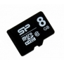 Флеш карта microSD 8Gb Class10 Silicon Power SP008GBSTH010V10