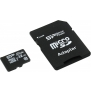 Флеш карта microSDHC 32Gb Class10 Silicon Power SP032GBSTHBU1V10-SP + adapter